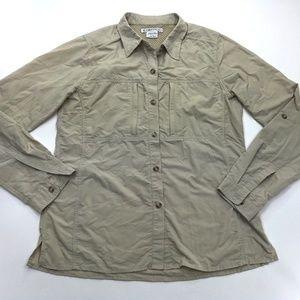 Exofficio Brown 10 Vented Long Sleeve Shirt 8